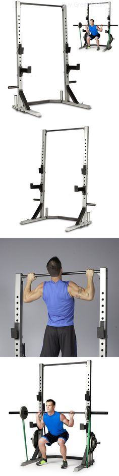 Power Racks and Smith Machines 179815: Strength Power Lifting Rack Weight Stand Squat Fitness Pull Up Bench Press Cage -> BUY IT NOW ONLY: $271.09 on eBay!