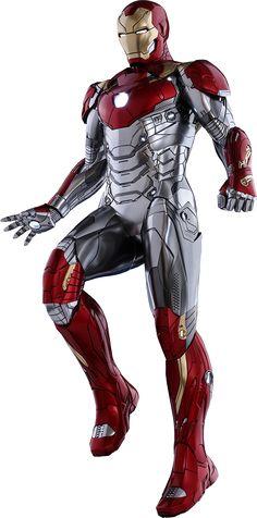 Hot Toys Iron Man Marca XLVII Sexta Escala Figura