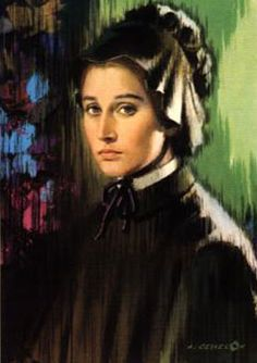 Saint Elizabeth Ann Seton was widowed and left to raise five kids alone in poverty. She managed to raise her kids, joined the Catholic Church, and opened a free school for all kids. She was known for teaching people to live lives of goodness, being a good role model, and being generous and unselfish.