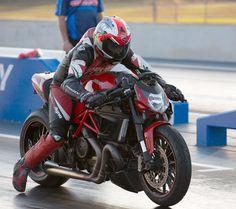 RocketGarage Cafe Racer: Ducati Diavel Drag Bike