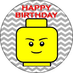 FREE printables for a lego themed birthday party.