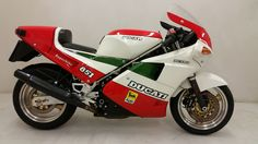 SOLD: Original owner Ducati 851 Tricolore with only 1100 miles, original tires, immaculate. Ducati 851, Bikes For Sale, Motorcycle, The Originals, Motorcycles, Motorbikes, Choppers