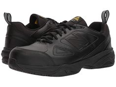 7675144bc1c New Balance 627v2 Men s Shoes Black Black Steel Toe