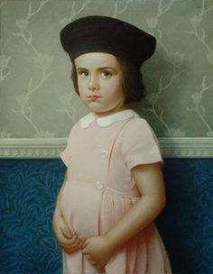 Koo Schadler: Portfolio: Egg Tempera Portraits