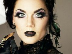 Catwoman Makeup Tutorial for Halloween | Catwoman makeup and ...
