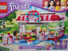 Lego Friends Set 3061 City Park Cafe w/Marie & Andrea New Sealed