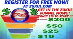 Click on the link below to get registered for FREE! http://zukul.com/ Pre-Launch Wednesday 31. August 2016 NEW Funnels in action  START at only $10 and these 3 things are included   * Landing Page Creator * Auto Responder * Marketing Training http://prelaunchhangout.gr8.com/ ARE YOU COMING?