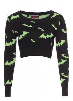 http://www.attitudeclothing.co.uk/womens-c256/jumpers-cardigans-c262/bat-cropped-jumper-p11917 Bat cropped jumper