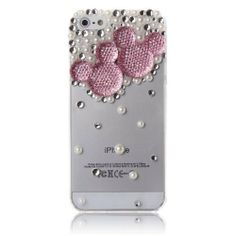 3d Clear Crystal Bling Case Cover with Rhinestone Mickey Minnie Mouse for Iphone (5 5s, pink) Punkphone,http://www.amazon.com/dp/B00GH4B1JM/ref=cm_sw_r_pi_dp_ySw6sb0KN16MP8YH