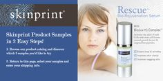Get free Skinprint Product Samples! Follow the link, browse through Skinprint's catalog, return to the page, select your samples and enter your shipping info. Growth Factor, Stem Cells, Serum, 3 D, The Selection, Catalog, Link, Free, Beauty