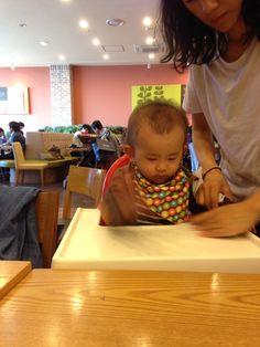 2014/10/09 (+316) 아기 의자가 싫어요~