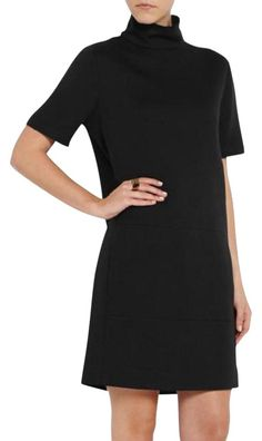 Cdric Charlier Black Perfect Dress. Free shipping and guaranteed authenticity on Cdric Charlier Black Perfect DressCedric Charlier Black Mini Dress, sz IT 40. NWT. R...