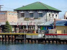 The Flats...Cleveland, OH ~ Need to get back with the hubs for the Rock N Roll Hall of Fame