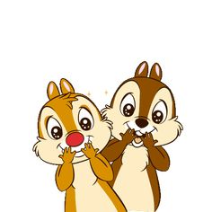 Chip 'n' Dale Pop-Up Stickers Snoopy Videos, Sanrio Characters, Disney Characters, Rescue Rangers, Disney Images, Chip And Dale, Cartoon Gifs, Walt Disney Company, Gif Pictures
