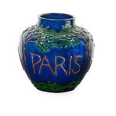 MAX LAEUGER Paris Exposition vase