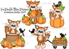 Foxes and Pumpkins