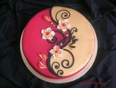 Simple but stunning cake