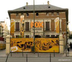 Logo Fox. Casa Efímera Fox, Madrid.