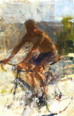 Jon Redmond, Man on Bike