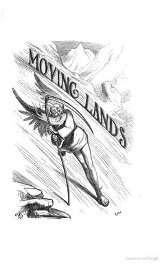 Moving lands. From The fairy tales of science, 1859.