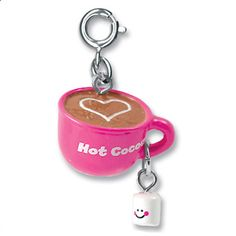 CHARM IT! Hot Cocoa Charm  #charmit #gifts #girls
