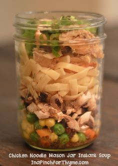 This instant soup mason jar is a perfect meal prep lunch or dinner!  It is convenient, packed full of fresh ingredients, and delicious! [mpprecipe-recipe:56]   Mason Jar Salads are a…