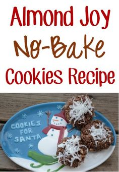 Almond Joy No-Bake Cookies Recipe! ~ at TheFrugalGirls.com {nothing beats the simplicity of easy no bake dessert recipes!} #cookie #desserts