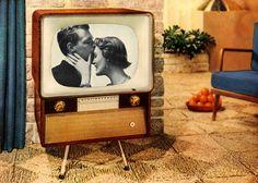 Model 828T21 Television Ad, 1954