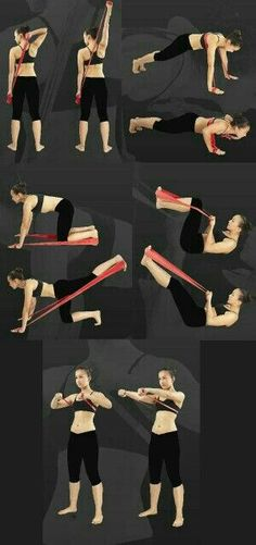 """> exercise by elastic band -> für Pilates Sonderangebote klicken! The Effective Pictures We Offer You About pilates workout A quality picture can tell you many things. Pilates Band, Pilates Workout Videos, Pilates Reformer, Pilates Video, Pilates Yoga, Beginner Pilates, Pop Pilates, Fitness Workouts, Band Workouts"