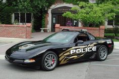Chevrolet Corvette Z06, Bloomfield Hills, MI, USA...Uh Oh.  guess you better quit speeding!