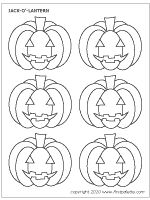 inside of a pumpkin coloring pages | many leaf templates - many shapes and sizes | Fall Fun ...