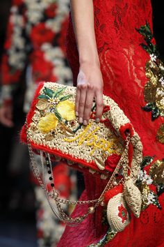 Dolce & Gabbana at Milan Fashion Week Spring 2016