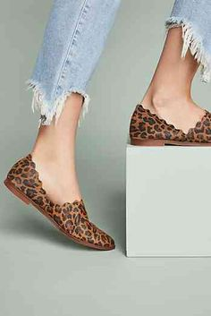 Klub Nico Georgette Scalloped Flats Slip On Shoes 194a1c24e98e
