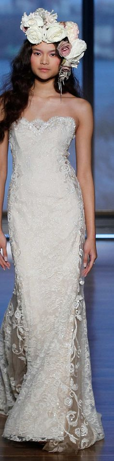 Ines Di Santo Collection Spring 2015 Bridal #coupon code nicesup123 gets 25% off at  www.Provestra.com www.Skinception.com and www.leadingedgehealth.com
