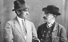 Alexandru Davila and Ion Luca Caragiale - Bucharest, 1909 Man Photo, Well Dressed, Youtube, Culture, Memories, Hats, People, How To Wear, Clothes