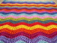10 Free Ripple Crochet Afghan Patterns