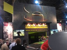 Under Armour Booth at the 2013 SHOT Show