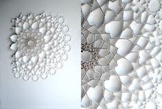 Matt Shlian : paper sculptures