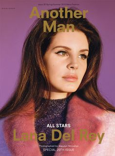 Lana Del Rey shot by Alasdair McLellan and styled by Allister Mackie for Another Man Magazine Spring/Summer 2015 Elizabeth Woolridge Grant, Elizabeth Grant, Lana Del Rey Photoshoot, Pin Up, Lana Del Ray, Hipster, Glamour Shots, Male Magazine, Portraits