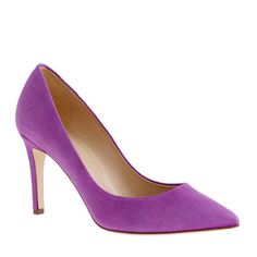 Everly suede pumps... came in different colours, incl. royal blue, mint green and pink. <3 <3 <3