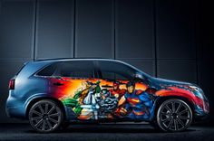 Kia builds Justice League-themed car  #shutupandtakemymoney
