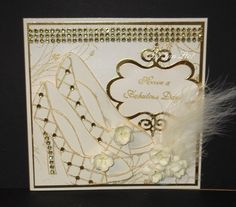 Inspiration | docrafts.com Chloes Creative Cards, Stamps By Chloe, Hand Made Greeting Cards, Dress Card, Crafters Companion, Granddaughters, Decoration, Handmade Cards, Wedding Cards