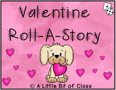 Valentine Roll-A-Story Favorite Holiday, Holiday Fun, Roll A Story, Presidents Day, Black History Month, Happy Holidays, Middle School, February, Preschool