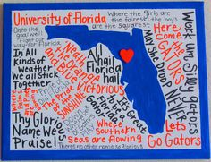 University of Florida Canvas by jzoet on Etsy, $30.00