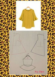 Sewing blouse diy 49 ideas Effective Pictures We Offer You About Women Blouse for party A quality picture can tell you many things. You can find the most beautiful pictures that can be presented to you about Women Blouse cott Dress Sewing Patterns, Blouse Patterns, Clothing Patterns, Blouse Designs, Fashion Sewing, Diy Fashion, Fashion Pattern, Sewing Blouses, Blog Couture