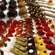 Hard to decide @maisonkayserusa #dessertporn #nyceats #huffposttaste #food52 #pastryart #yummy #newyork_instagram #newyorknewyork #food #eatfamous #eeeeeeats #iloveny #foodstagram #travelfood #flatirondistrict #manhattan