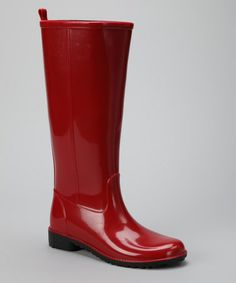 Take a look at this Red Classic Rain Boot by Napa Flex on #zulily today!