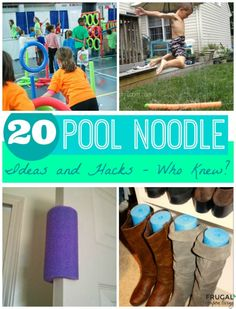 20 Pool Noodle Ideas and Hacks – Who Knew? DIY Pool Noodle Hacks on Frugal Coupon Living