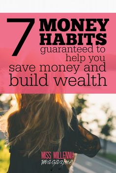 Forming good money habits is hard. If you're dead serious about paying off debt, saving money, and building wealth, master these seven money habits today. via @missmillmag