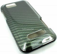 Carbon fiber case.